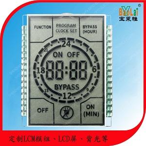 lcd显示屏定制,电子工控计时器、定时器开关LCD液晶屏批发