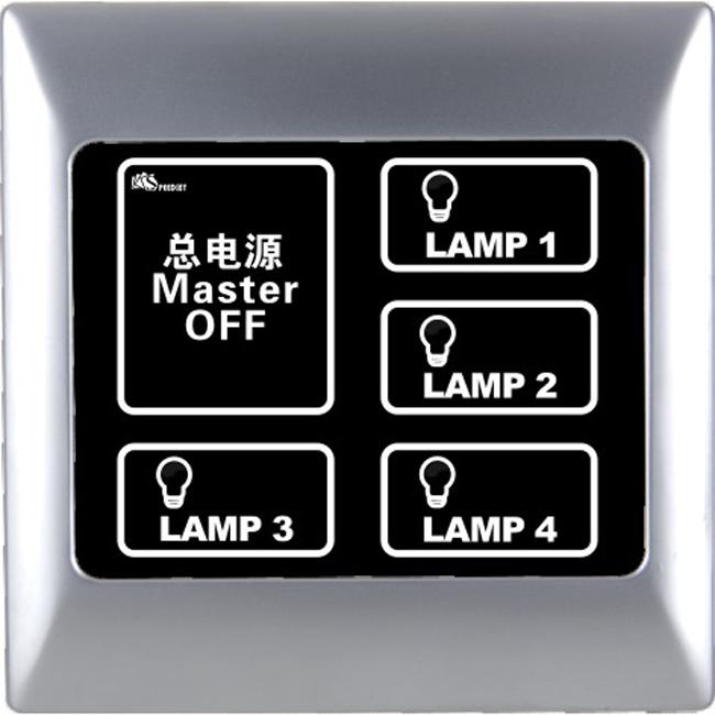 灯控触摸屏,(BLY-M4304A)触摸屏灯控定制